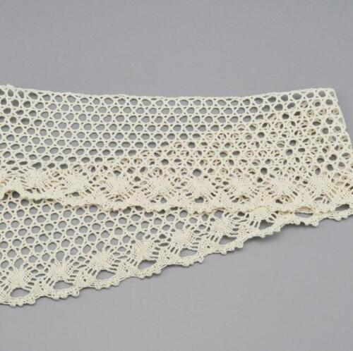 4 Yards Baumwolle Spitze DIY Kopfschmuck Bowknot Kleidung Dekorative Nähen