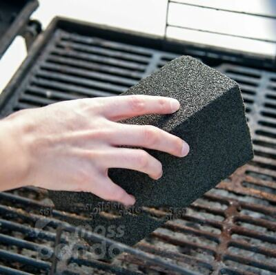 Grill Brick, Griddle Cleaner, BBQ Scraper griddle Cleaning Pumice Stone Block