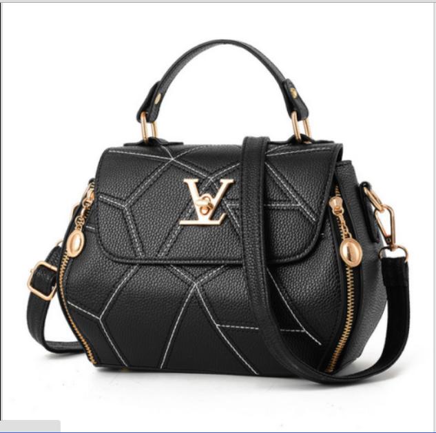 Damen Tasche Shopper Handtasche Schultertasche Umhängetasche Damentaschen Neu! Schwarz & Karierten