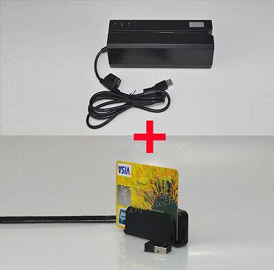 Msre206 Hico Magnetic Card Readerwriter  Wireless Bluetooth Mini400b