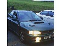 Subaru Impreza turbo full mot well lookafterd
