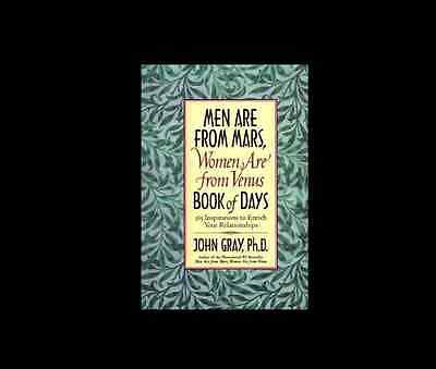 - Men Are from Mars Women Venus Book of Days 365 Inspirations by John Gray grey