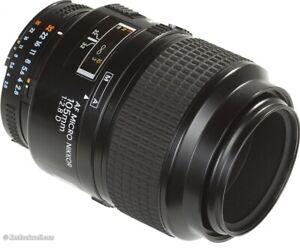 Nikon 105mm f/2.8 Micro Nikkor (macro lens)