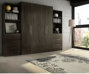 Murphy Wall Bed - Queen, Espresso