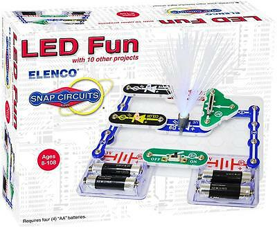 ELENCO SNAP CIRCUITS SCP-11 LED FUN LIGHT KIT-INCLUDES 11 PROJECTS AGE 8+