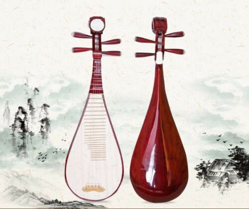 lute Liuqin - Chinese Soprano Pipa Dunhuang Musical Instrument / Adults #4855