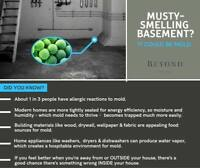 Tired of having that damp basement smell? We can help!