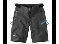 Madison women's Flux bike cycle sport shorts size 8 NEW RRP £60