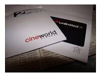 Cineworld Unlimited Card Free