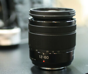 Panasonic 12-60mm f3.5-5.6 Power OIS Lens/lentille