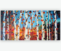 Abstract Landscape Painting, Buy Original Modern Art in Montreal
