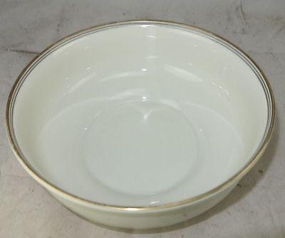 Langenthal Porzellan Elfenbein mit Goldrand Schale Schüssel 20,2 cm