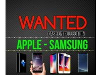 WANTED IPHONE x 10 7 PLUS 8 256GB SAMSUNG S8 note 8 64GB IPAD pro MACBOOK AIR i5 i7 13 15