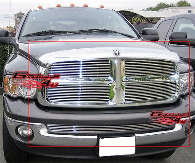 - Fits 2002-2005 Dodge Ram Billet Grille Combo Insert