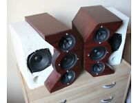 Custom speakers or parts for a new project.