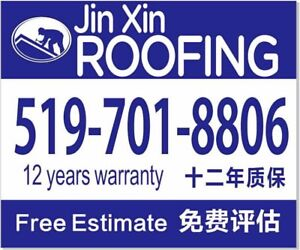 Jin Xin Roofing Free Estimate & replace Roof.