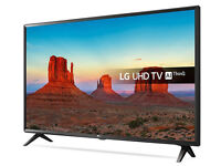 """43"""" LG UHD 4k HDR Smart LED TV with Freeview. Brand new, unopened, warranty."""