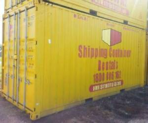 SHIPPING CONTAINERS FOR HIRE 20ft Brisbane City Brisbane North West Preview