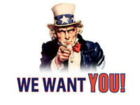 WE WANT YOU! Great Paid Roles £9-11 per hour! Start IMMEDIATELY!