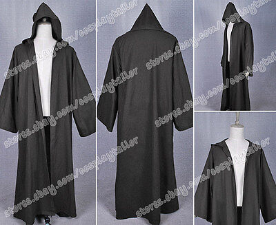 Star Wars Cosplay Anakin Skywalker Costume Black Robe Cape High Quality Hot Sale](High Quality Star Wars Costumes)