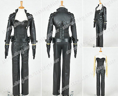 Black Canary Arrow Costume (Green Arrow Cosplay Black Canary Sara Lance Costume Party Outfit Whole Set)