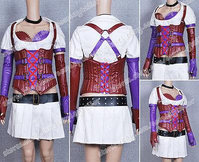 Batman Cosplay Harley Quinn Nurse Costume Exquisite In Details Dress Skirt   - Harley Quinn Nurse Costumes