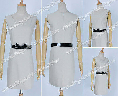 Twilight Cosplay Bella White Daily Dress Costume Halloween Suit Lovely Style