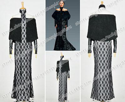 Star Wars 3 Revenge Of The Sith Cosplay Padme Amidala Costume Dress Halloween - Star Wars Sith Halloween Costumes