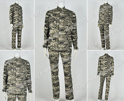 Hick Costume (Aliens Cosplay Corporal Dwayne Hicks Costume Camouflage Uniform High Quality)