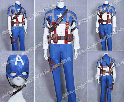 Captain America Cosplay The First Avenger Steve Rogers Costume Original - Original Captain America Costume