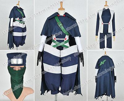 Fairy Tail Cosplay Mystogan Kostüm einheitliche Outfit voller Set Anime Kleidung (Anime Männliche Kleidung)