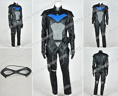 Young Justice Cosplay Nightwing Kostüm Jumpsuit Uniform Outfit Schwarze (Jumpsuit Uniform Kostüme)