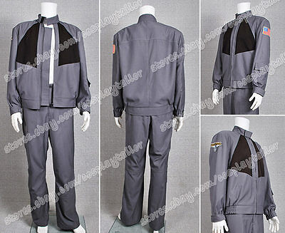 Stargate Atlantis Cosplay John Sheppard Costume Jacket  Uniform Well Designed  - Sheppard Costume