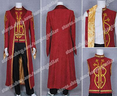Classy Mens Halloween Costumes (Legend of the Seeker Cosplay Darken Rahl Costume Classy Trench Coat Halloween)