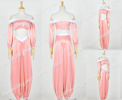 Aladdin And The King Of Thieves Cosplay Jasmine Princess Costume Light Pink Suit - Princess Jasmine And Aladdin Costume