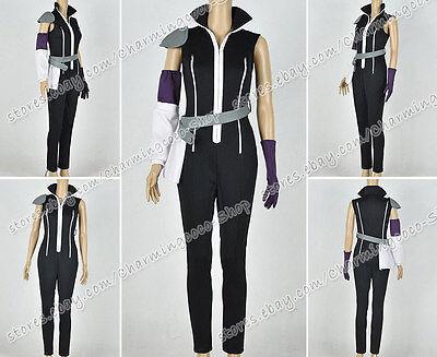 Fairy Tail Cosplay Edolas Lucy Heartfilia Kostüm schwarz - Fairy Tail Cosplay Kostüm