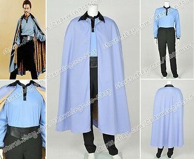 Star Wars Episode Vii 7 Lando Calrissian Cosplay Costume Halloween Outfit Suit