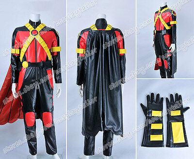Drake Halloween Party (Young Justice Cosplay Red Robin Tim Drake Costume Party Halloween Clothing)