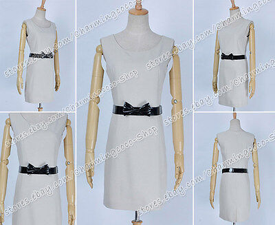 Twilight Cosplay Bella White Daily Nicely Dress Costume High Quality Halloween