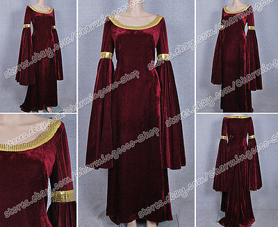 The Lord Of The Rings Arwen Kleid Cosplay Kostüm Halloween Party gute - Gute Halloween Party Kostüm