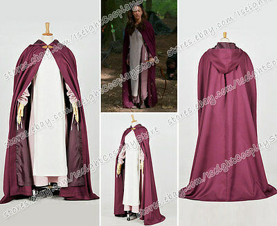 Once Upon A Time Season 3 Cosplay Maid Marian Costume Women Outfit Halloween New](Maid Marian Outfit)