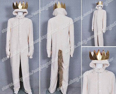 Where the Wild Things Are Cosplay Wolf Max Records Costume Jumpsuit Comfortable](Wild Things Max Costume)