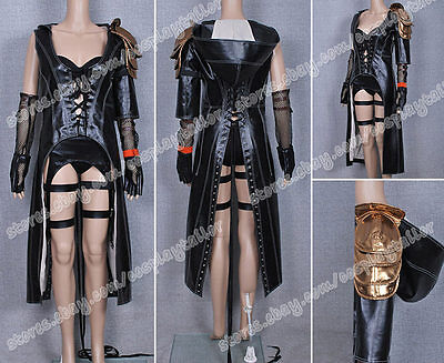 Sucker Punch Cosplay Sweet Pea Costume Leather Suit Great For Halloween Full Set](Sucker Punch Sweet Pea Costume)