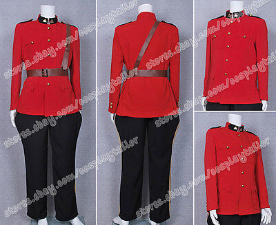 Mountie Halloween Costume (Due South Cosplay Red Mountie Serge Costumes Uniform Suit Hot Sale Halloween)