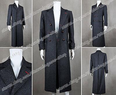 Sherlock Holmes Cosplay Costume Clothing Trench Coat Jacket Overcoat Good - Sherlock Holmes Costume Women