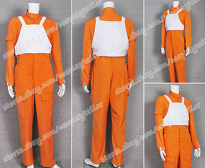 Star Wars Cosplay X-Wing Pilot Costume Uniform Orange Jumpsuit Vest High Quality](High Quality Star Wars Costumes)