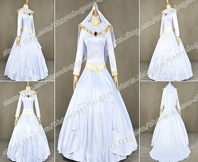 Aladdin And The King Of Thieves Cosplay Costume Jasmine Bridal Gown With Veil - Jasmine And Aladdin Costumes