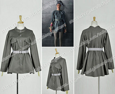 Hunger Games Effie Trinket Costume (The Hunger Games 3:Mockingjay Cosplay Effie Trinket Costume Military Jacket)