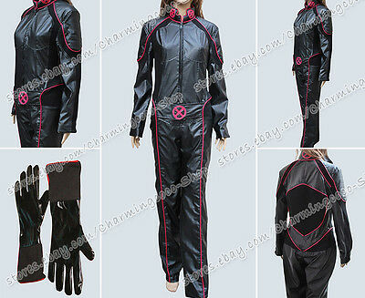 X Men Cosplay Kitty Pryde Costume Jumpsuit Female Uniform Comfortable Clothing
