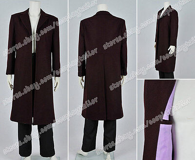 Who Purchase Doctor Cosplay The Bells Of Saint John Dr 11th Costume Trench Coat](Purchase Cosplay Costumes)